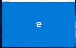 Edge werkt niet meer standaard apps terug zetten.pg