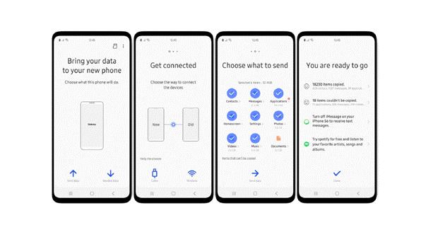 Samsung One UI interface uiterlijk