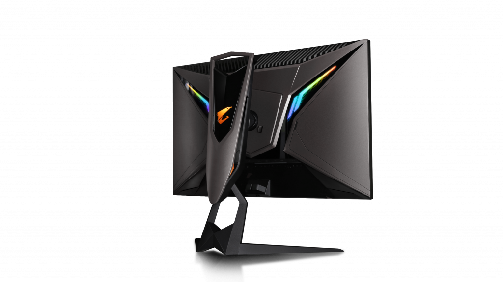 gaming monitor met noise cancelling Gigabyte AORUS AD27QD