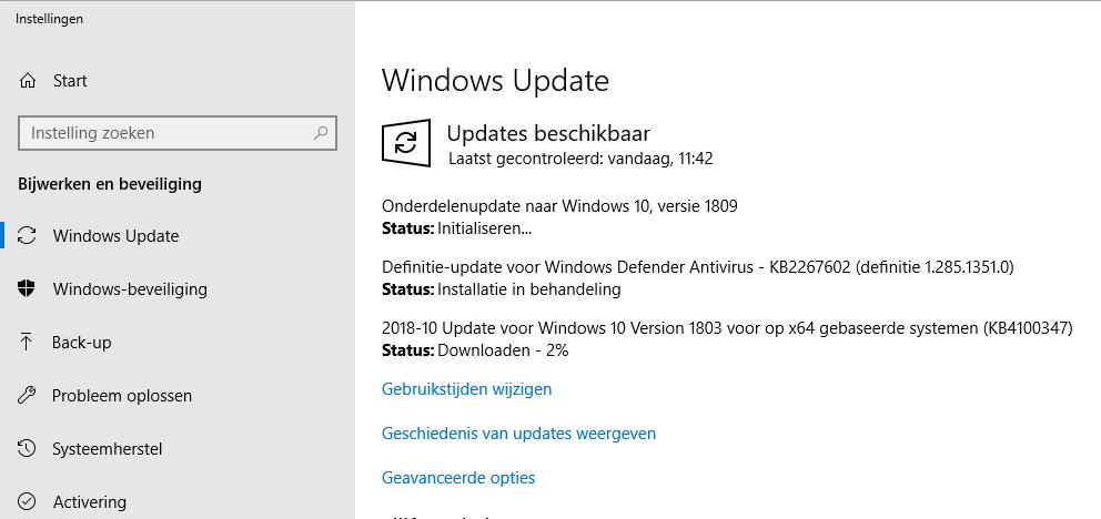 Windows 7 naar Windows 10 overstap update