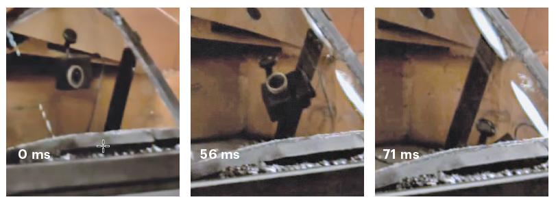 dashcam auto crashtest review botsproef botsing beeld bewaren opslaan