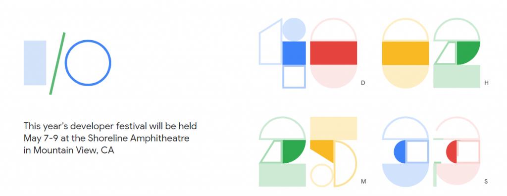 Google IO 2019 programma schedule