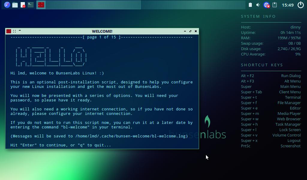 oude pc hergebruiken met Linux BunsenLabs script update repository
