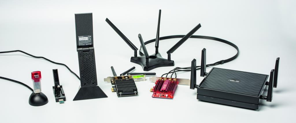 wifi adapter pc laptop bridge netwerkpoort insteekkaart
