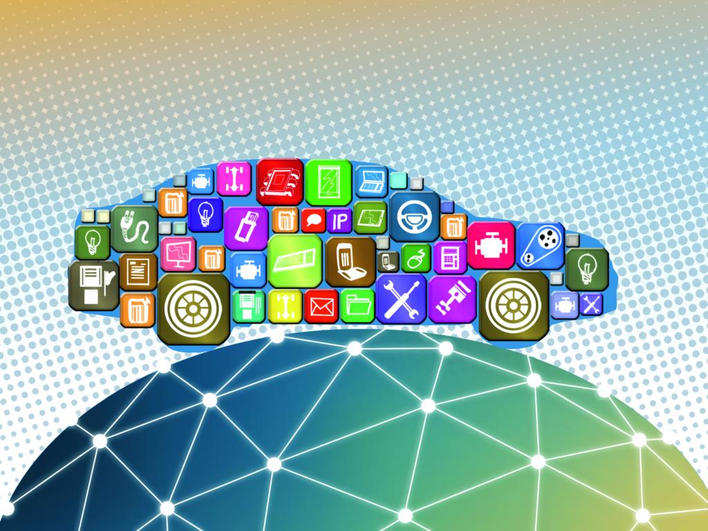 auto en blockchain DLT BMW