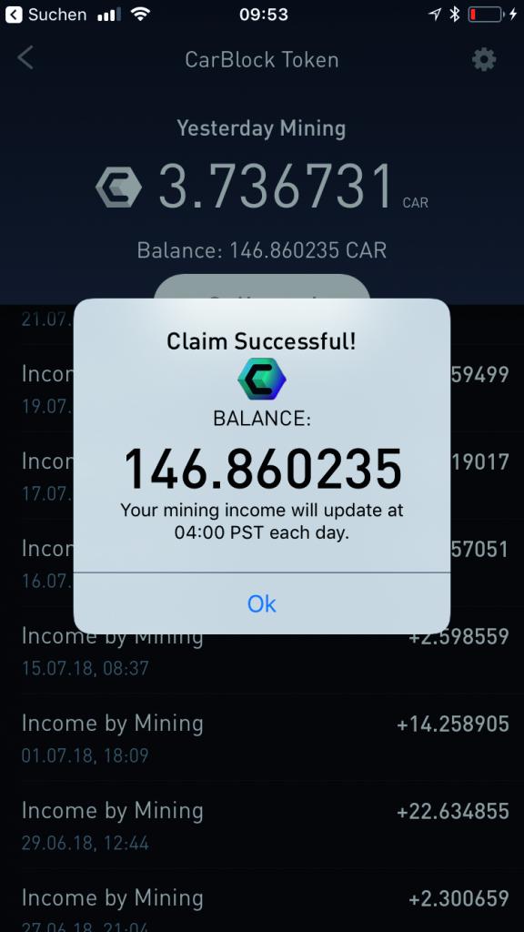 auto en blockchain Nonda CarBlock