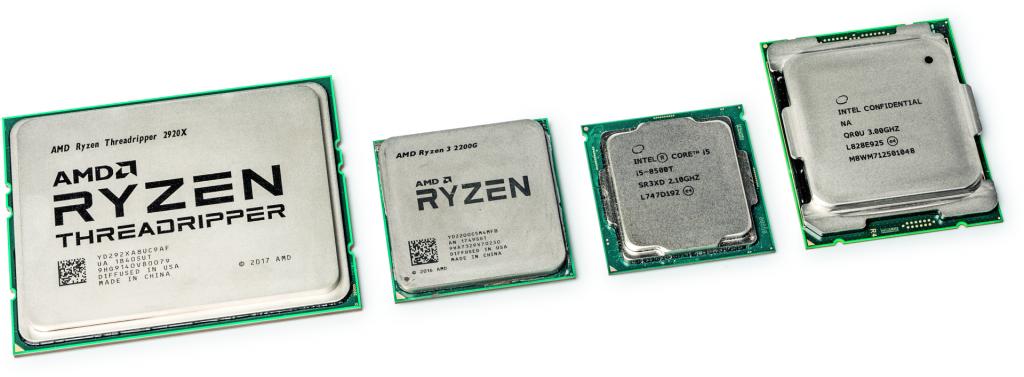 pc bouwen zelfbouw onderdelen kiezen CPU processor AMD Intel