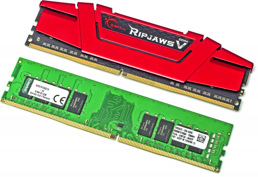 pc bouwen zelfbouw onderdelen kiezen geheugen RAM DDR