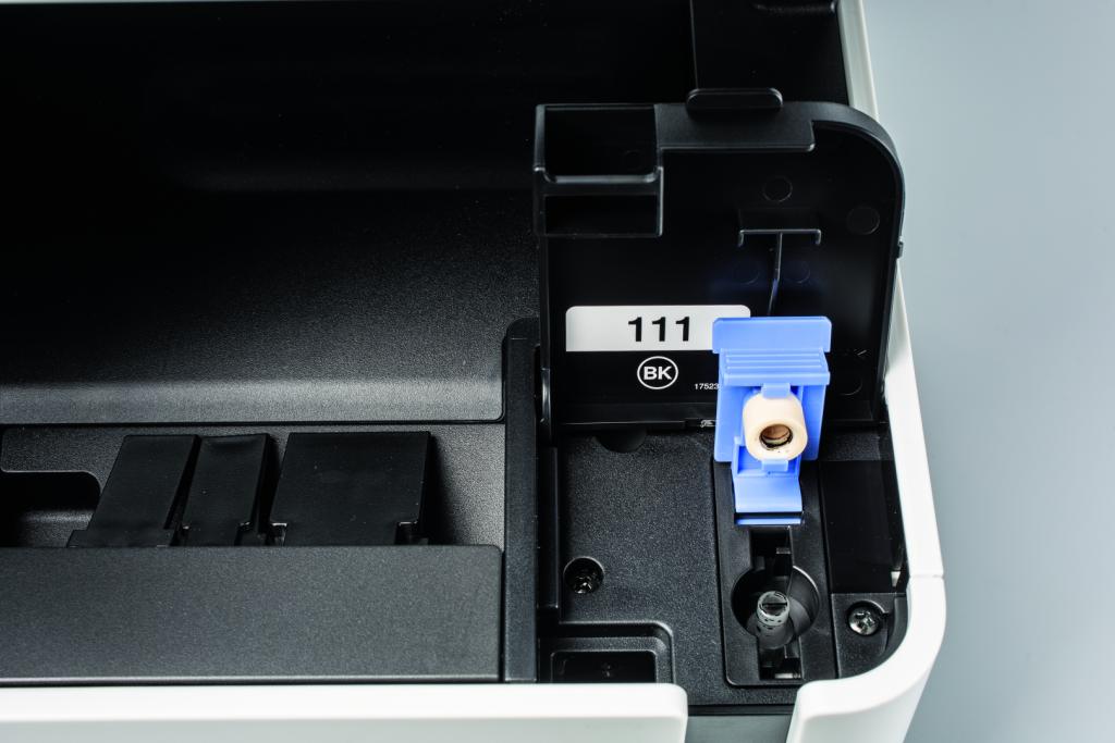 printkosten inkjet printer goedkoop vulling prijs per pagina Epson Ecotank vullen fles inkt