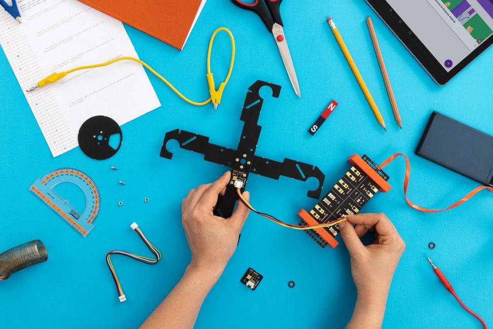 Arduino Google scholen kit onderzoek educatief techniek natuurkunde