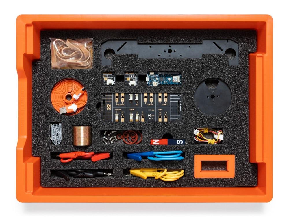 Arduino Google scholen kit onderzoek educatief techniek