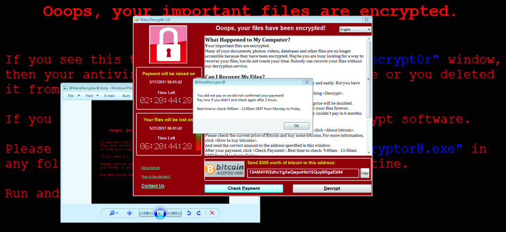 Windows 7 support beveiliging malware wannacry