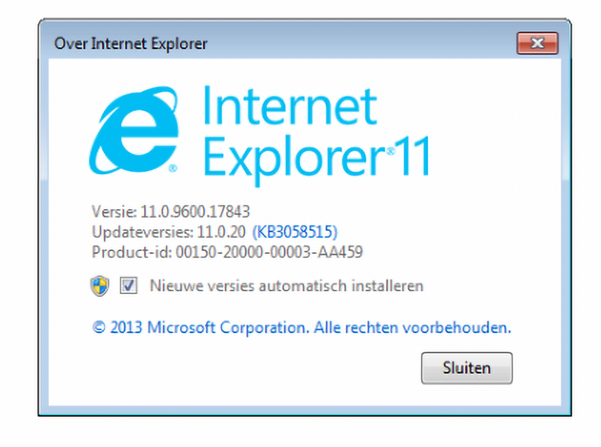 WIndows 7 support stopt browser Internet Explorer
