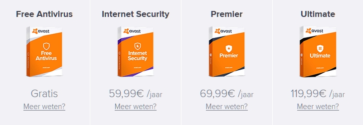 antivirus programma Windows Defender betaalde software prijs gratis