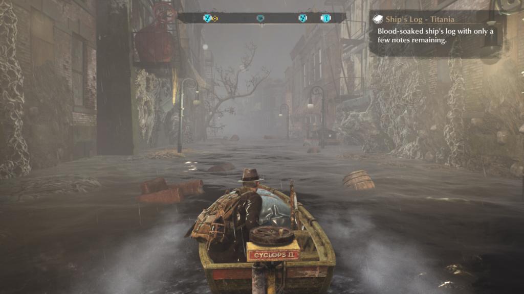 Aangezien een groot deel van de stad is ondergelopen, reis je vaak met een kleine motorboot.