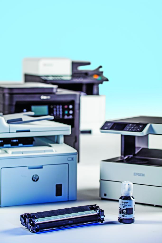 zwart-wit printer laser inktjet kwaliteit zakelijk inkt vs toner