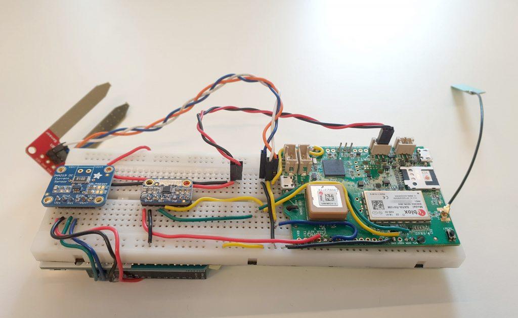5G energiezuinig communiceren Sodaq Sara R410M NB IoT energieverbruik