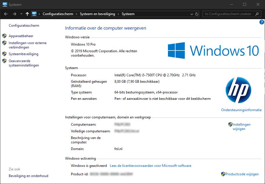 activeren Windows licentie activatie