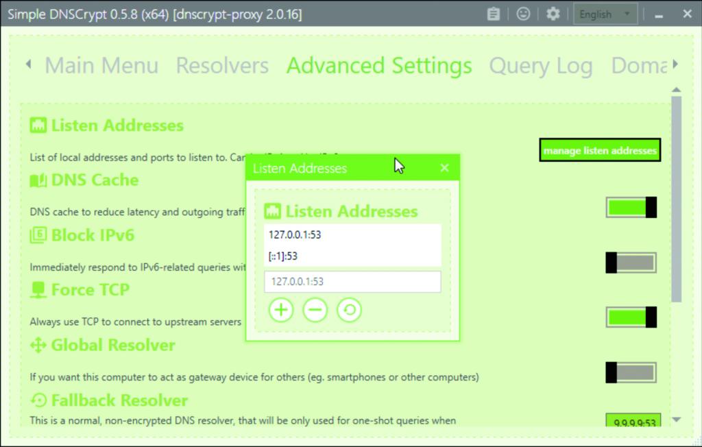 anoniem surfen DNS server encryptie versleuteld DNSCrypt Windows