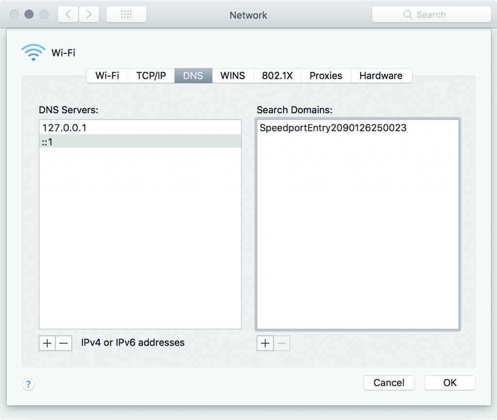 anoniem surfen DNS server encryptie versleuteld DoT DoH DNS-proxy loopback