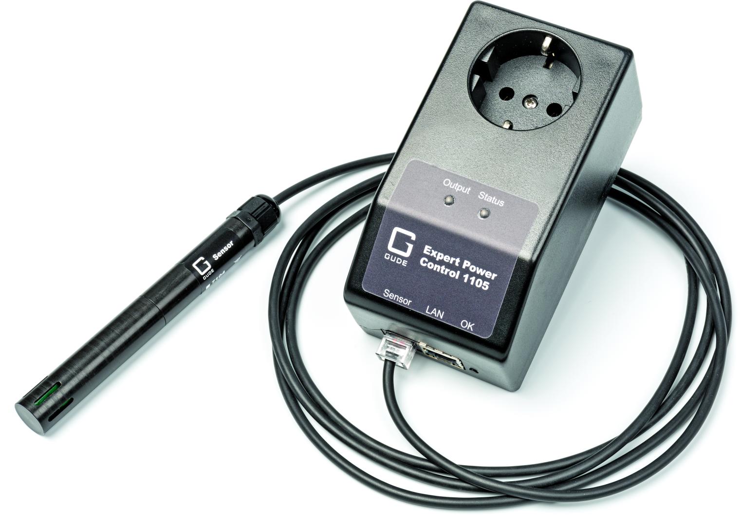 schakelen via netwerk Gude Power Control 1105 test WCD