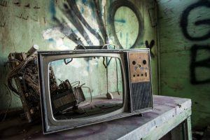 kapotte tv