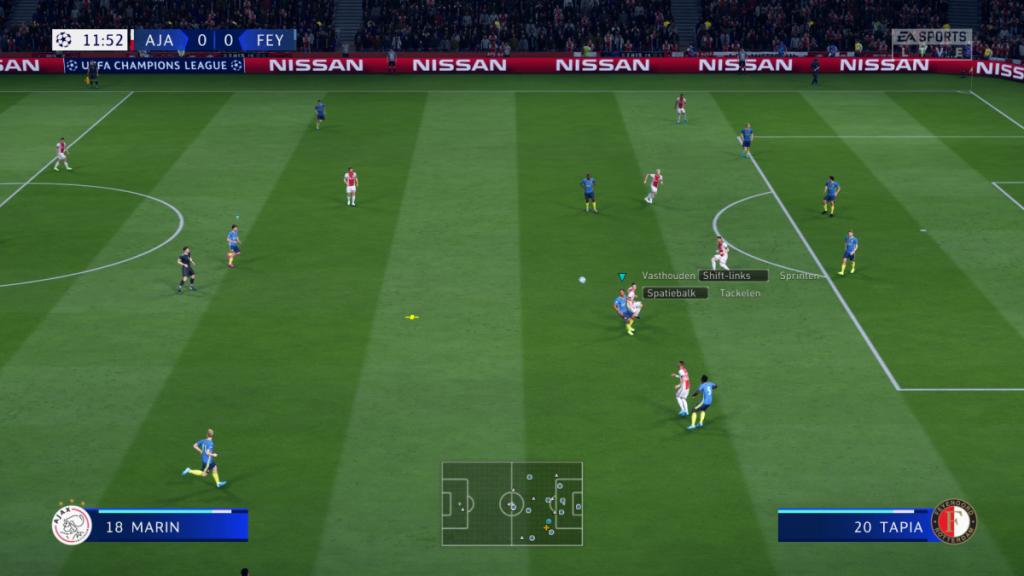 FIFA voetbalveld