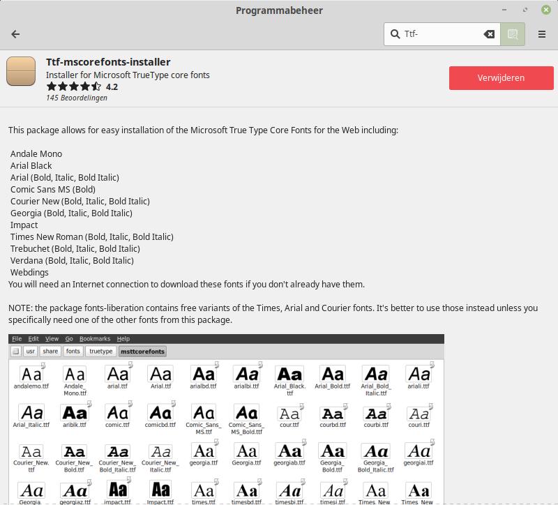 bestanden overzetten van Windows naar Linux instellingen overzetten lettertype TTF fonts