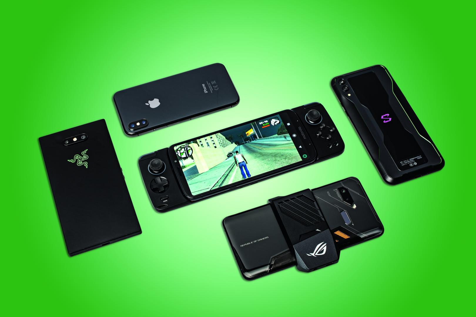game smartphone test mobiel gamen iPhone Android Rog Phone Razer Phone Black Shark