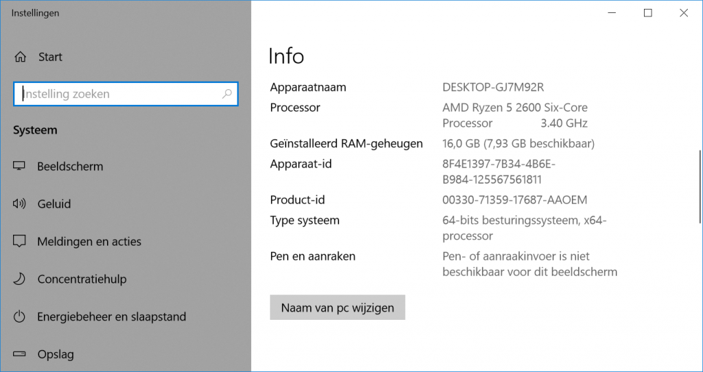 Windows 10 omzetten naar UEFI controleren 32-bit 64-bit architectuur
