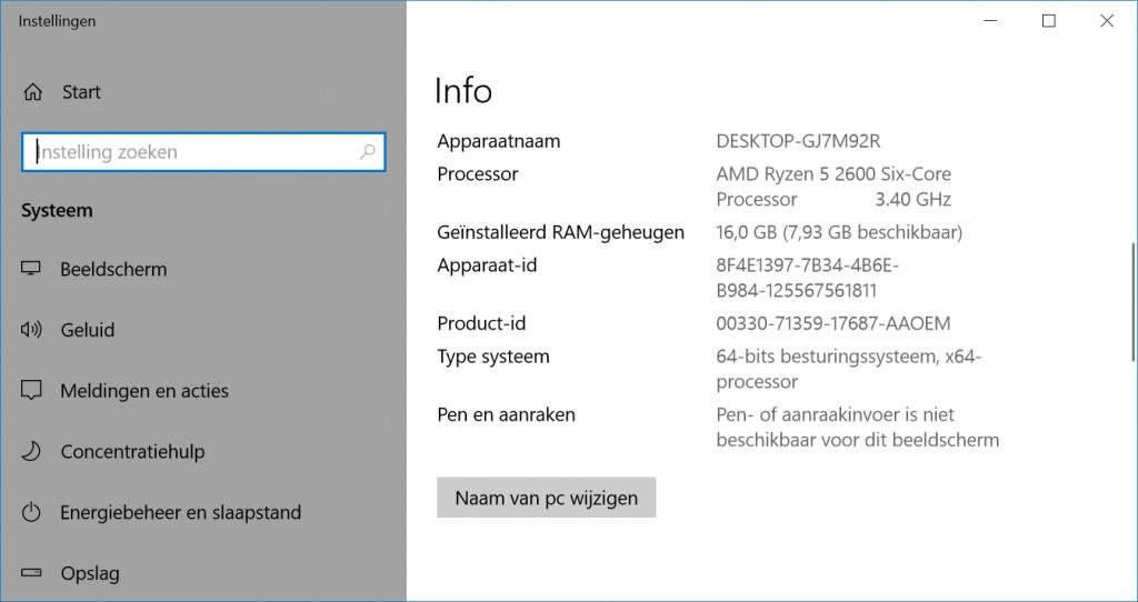 Windows 10 omzetten naar UEFI controleren 32-bit 64-bit architectuur