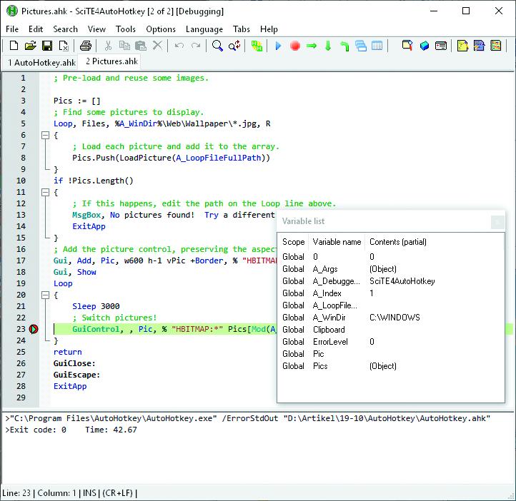Windows automatiseren AutoHotkey editor script schrijven