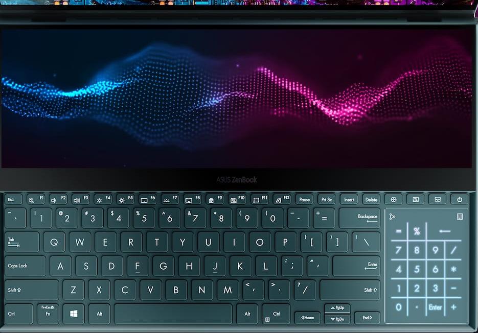 ZenBook Pro Duo toetsenbord