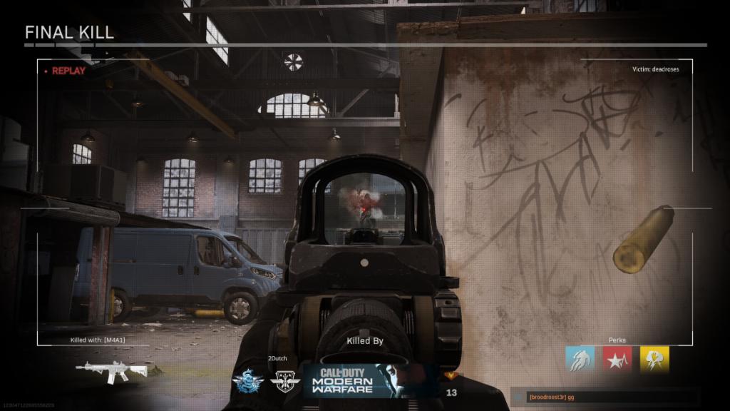 cod modern warfare - final kill