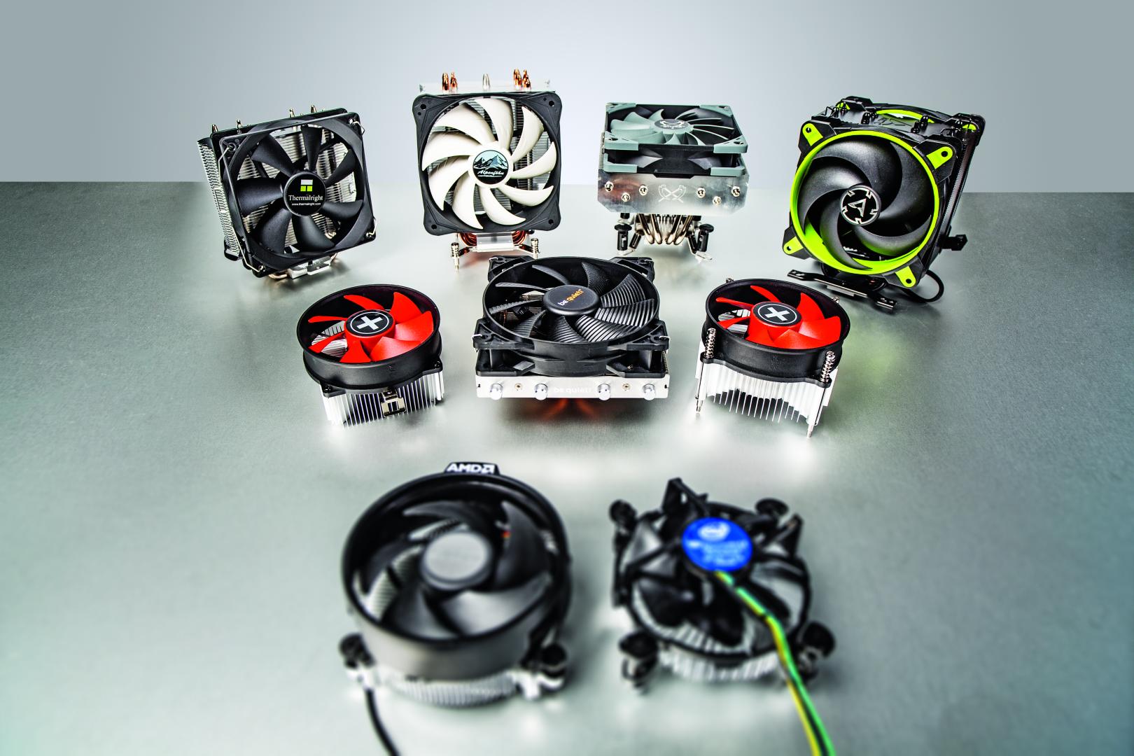 processorkoeler cpu-koeler test review AMD Intel voordelig goedkoop temperatuur geluid