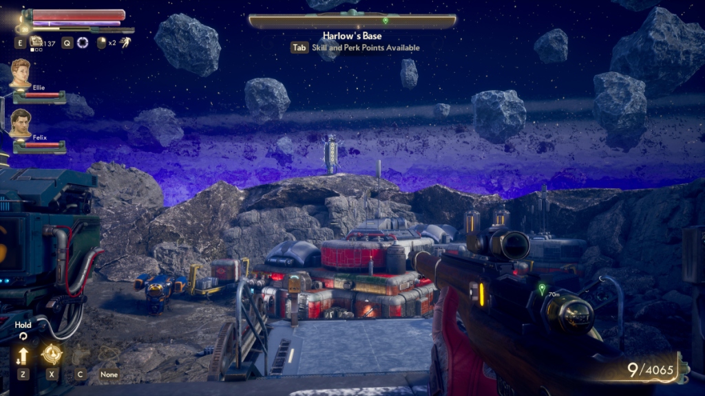 the outer worlds - harlows base