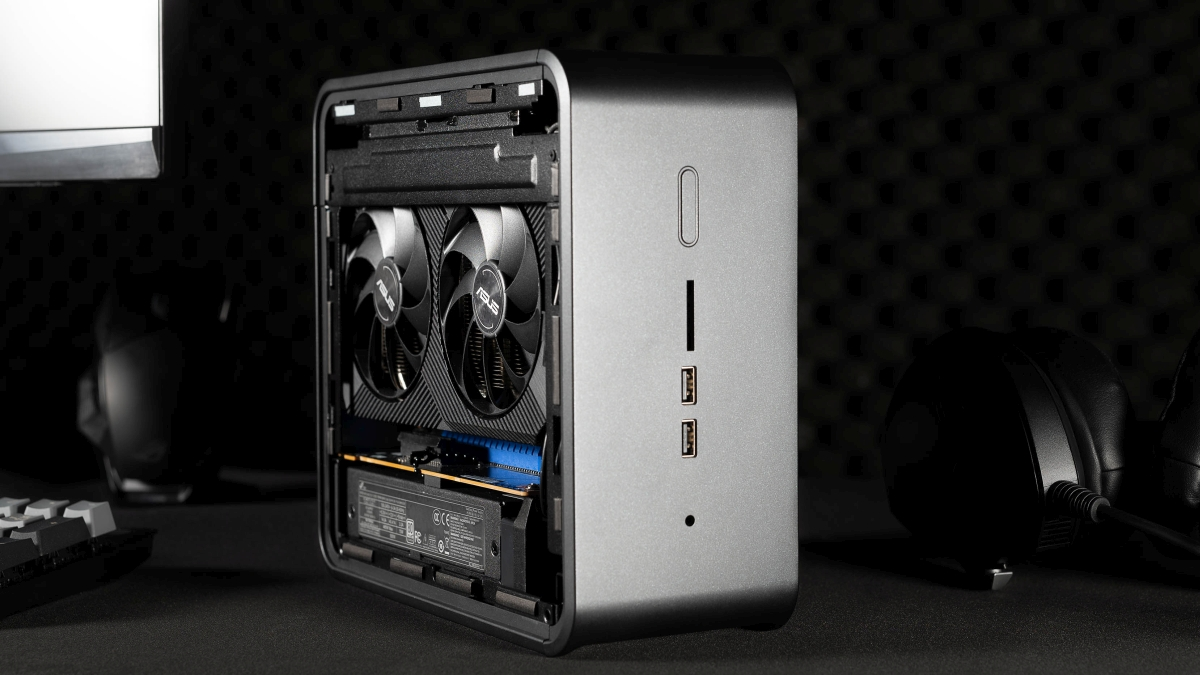Asus Dual GeForce RTX 2070 MINI in NUC