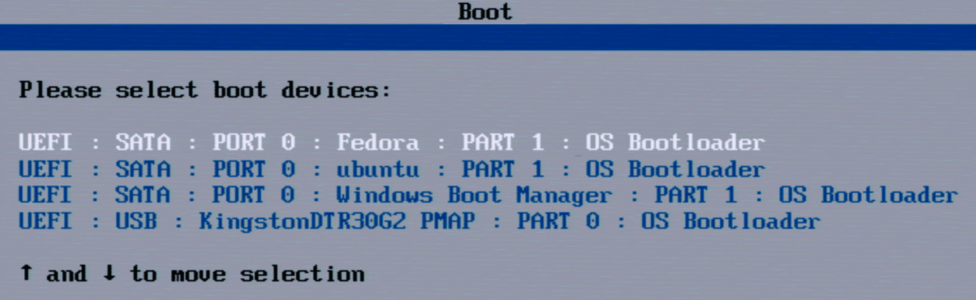 Linux parallel naast elkaar gebruiken boot problemen oplossingen UEFI BIOS bootmenu