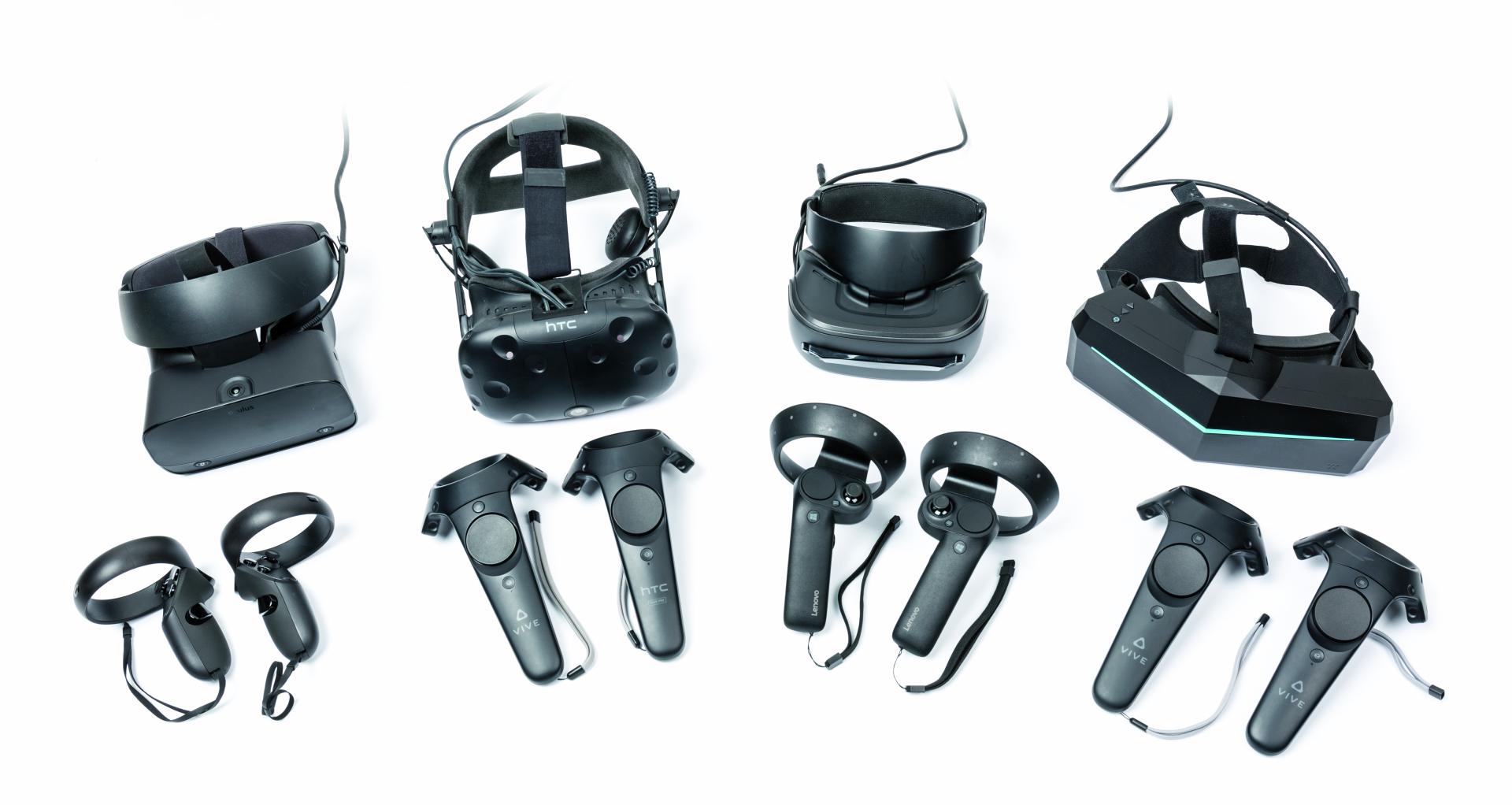 Virtual reality headset VR-bril overzicht advies vergelijking koopadvies pc computer