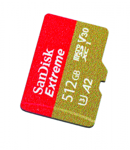 grote geheugenkaart test review SanDisk Extreme (Pro)