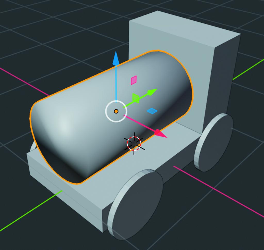 Blender workshop 3D ontwerpen Smooth Shading gladde overgang