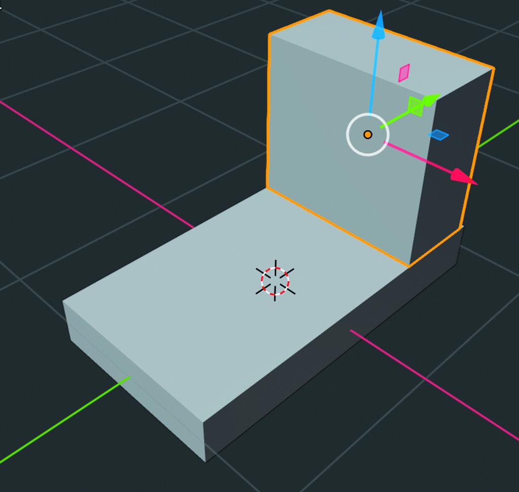 Blender workshop 3D ontwerpen cabine Move