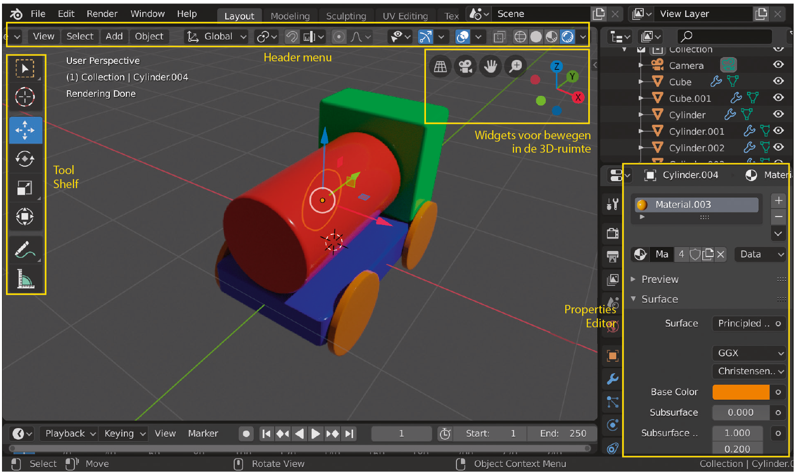 Blender workshop 3D ontwerpen gratis software modelleren