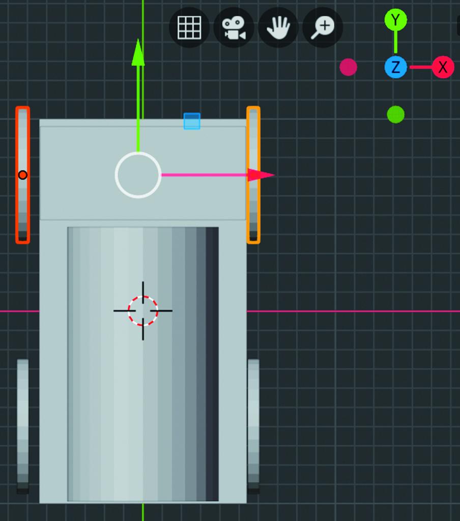 Blender workshop 3D ontwerpen orthogonale weergave perspectief wijzigen