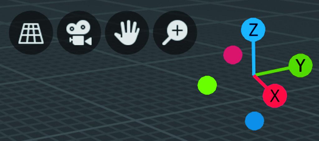 Blender workshop 3D ontwerpen verplaatsen Navigation widget