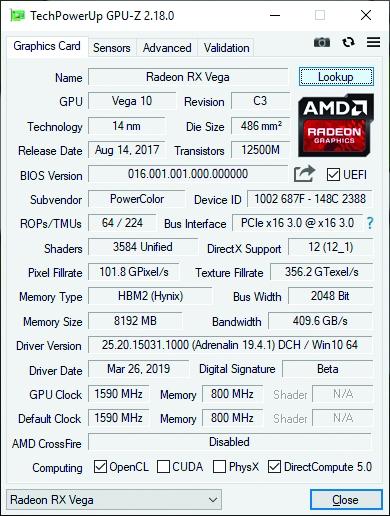 GPU-Z screenshot