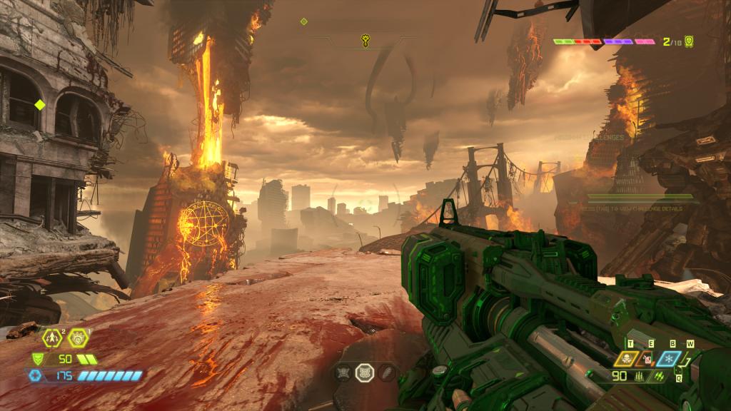Doom Eternal - mapdesign