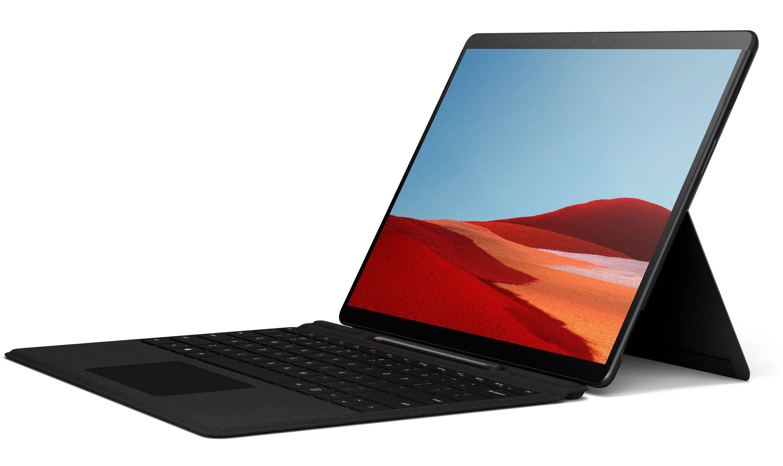 Surface Pro X aanbieding