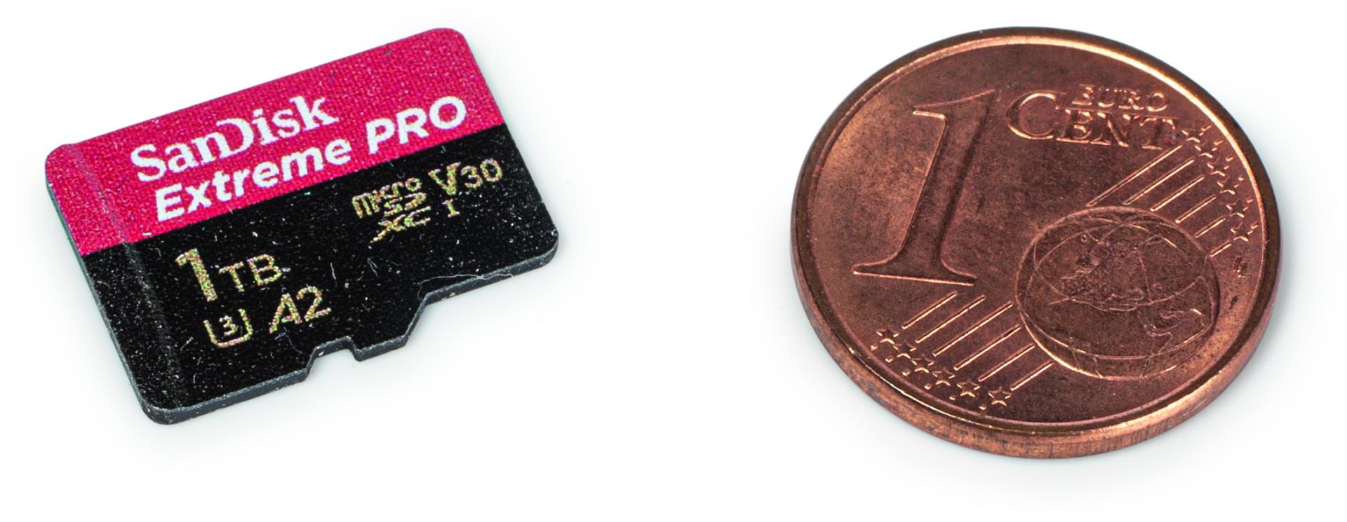 grote microSD-kaart geheugenkaart 1TB SanDisk Extreme Pro