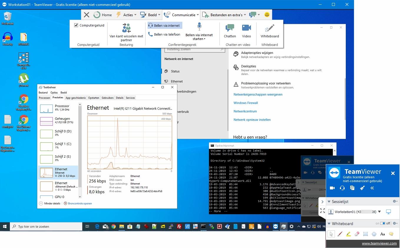 remote support beheer software zakelijk commercieel pc computer hulp review TeamViewer